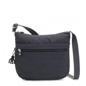 Kipling ARTO Shoulder Bag Across Body Night Grey