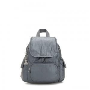 Kipling CITY PACK MINI City Pack Mini Backpack Steel Grey Metallic