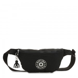 Kipling FRESH Medium Bumbag Lively Black