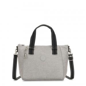 Kipling AMIEL Medium Handbag Chalk Grey