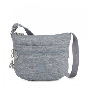 Kipling ARTO S Cross Body Shoulder Bag Cool Denim