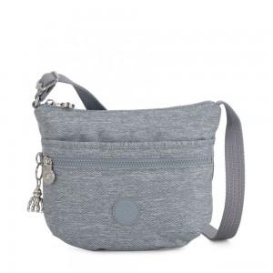 Kipling ARTO S Cross Body Shoulder Bag Cool Denim