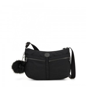 Kipling IZELLAH Medium Across Body Shoulder Bag True Dazz Black
