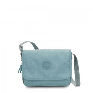 Kipling NITANY Medium Crossbody Bag Aqua Frost