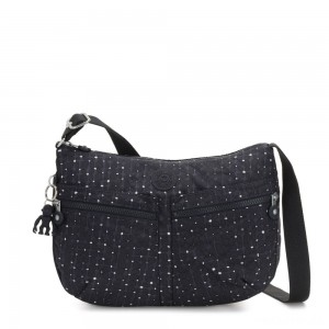 Kipling IZELLAH Medium Across Body Shoulder Bag Tile Print