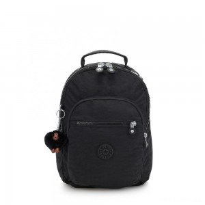 Kipling CLAS SEOUL S Backpack with Tablet Compartment True Black