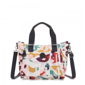 Kipling AMIEL Medium Handbag Music Print