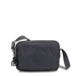 Kipling ABANU Mini Crossbody Bag with Adjustable Shoulder Strap Night Grey