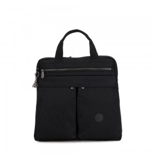 Kipling KOMORI S Small 2-in-1 Backpack and Handbag Rich Black