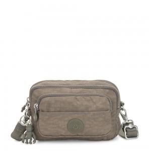 Kipling MULTIPLE Waist Bag Convertible to Shoulder Bag Seagrass