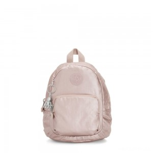 Kipling GLAYLA Extra small 3-in-1 Backpack/Crossbody/Handbag Metallic Rose Gifting