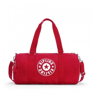 Kipling ONALO Multifunctional Duffle Bag Lively Red