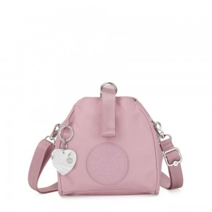 Kipling IMMIN Small Shoulder Bag Faded Pink