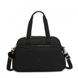 Kipling JULY BAG Travel Tote True Black