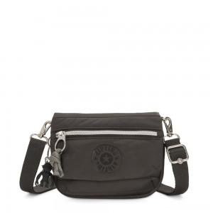 Kipling TULIA Small Puff effect 2-in-1 Crossbody/Bum Bag Cold Black