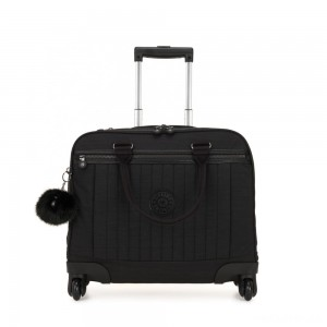 Kipling NETSIA Wheeled Computer Bag True Dazz Black