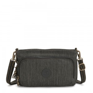 Kipling MYRTE Small 2 in 1 Crossbody and Pouch Black Indigo