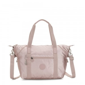 Kipling ART Handbag Metallic Rose