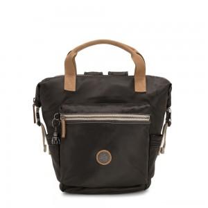 Kipling TSUKI S Small Backpack with semi detachable straps Delicate Black
