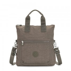 Kipling ELEVA Shoulderbag with Removable and Adjustable Strap Seagrass