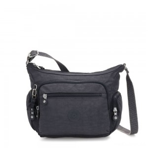 Kipling GABBIE S Crossbody Bag with Phone Compartment Night Grey