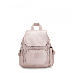 Kipling CITY PACK MINI City Pack Mini Backpack Metallic Rose