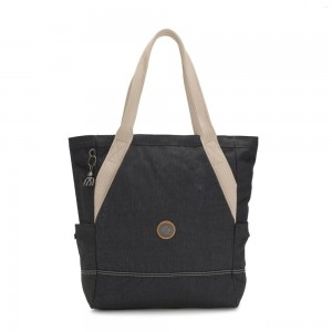 Kipling ALMATO Large Spacious Tote Bag Casual Grey