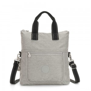 Kipling ELEVA Shoulderbag with Removable and Adjustable Strap Chalk Grey