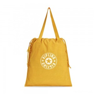 Kipling NEW HIPHURRAY Lightweight Tote Bag Lively Yellow