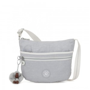 Kipling ARTO S Small Cross-Body Bag Active Grey Bl