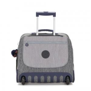 Kipling CLAS DALLIN Large Schoolbag with Laptop Protection Ash Denim Bl