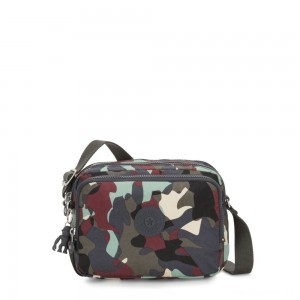 Kipling SILEN Small Across Body Shoulder Bag Camo Large