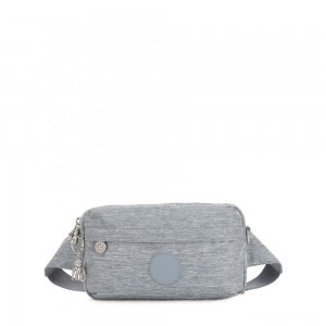 Kipling HALIMA Small 2-in-1 Waistbag and Crossbody Cool Denim
