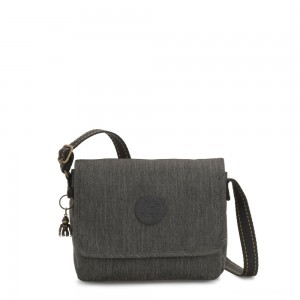 Kipling NITANY Medium Crossbody Bag Black Indigo