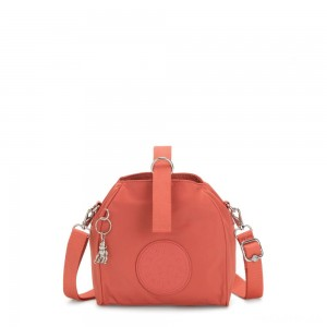 Kipling IMMIN Small Shoulder Bag Soft Orange