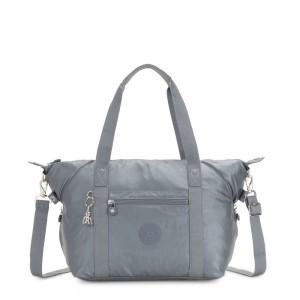 Kipling ART Handbag Steel Grey Metallic