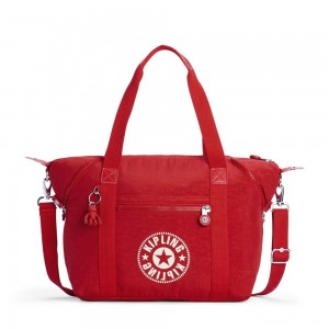 Kipling ART NC Lightweight Tote Bag Lively Red