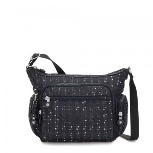 Kipling GABBIE S Crossbody Bag with Phone Compartment Tile Print