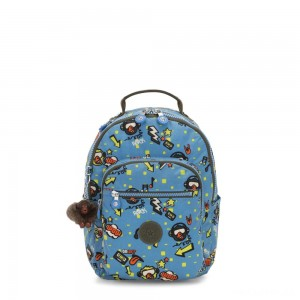 Kipling SEOUL GO S Small Backpack Monkey Rock