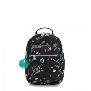Kipling SEOUL GO S Small Backpack Girl Doodle