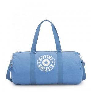 Kipling ONALO L Large Duffle Bag with Zipped Inside Pocket Dynamic Blue