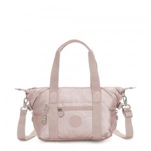 Kipling ART MINI Handbag Metallic Rose