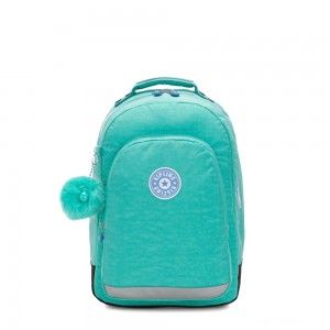 Kipling CLASS ROOM Large backpack with laptop protection Deep Aqua C