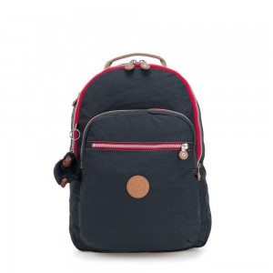 Kipling CLAS SEOUL Large backpack with Laptop Protection True Navy C