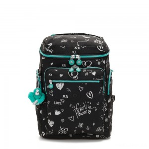 Kipling UPGRADE Large Backpack Girl Doodle