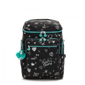 Kipling UPGRADE Large Backpack Girl Doodle