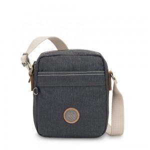 Kipling HISA Small Crossbody bag with front magneic pocket Casual Grey