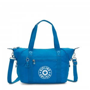 Kipling ART NC Lightweight Tote Bag Methyl Blue Nc