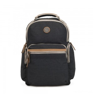 Kipling OSHO Large backpack with organsiational pockets Casual Grey