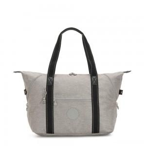 Kipling ART M Multi-use medium tote with trolley sleeve Chalk Grey